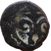 Fals - Salah-ad-Din Hajji II (Bahri dynasty - Trablus Mint) – revers