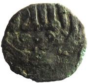Fals - al-Nāṣir Muhammad I (Bahri dynasty - Dimashq Mint) – avers