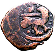 Fals - al-Salih Salih (Bahri Dynasty - Halab Mint) – avers