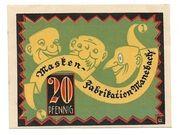 20 Pfennig – revers