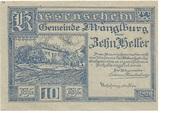 10 Heller (Manglburg) -  avers