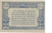 10 Heller (Manglburg) -  revers