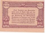 20 Heller (Manglburg) – revers
