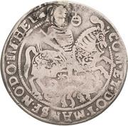 ¼ Thaler - Volrat VI., Jobst II. and Wolfgang III. – revers