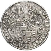 1 Thaler - Volrat VI., Jobst II. and Wolfgang III. – avers