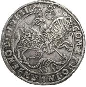 1 Thaler - Volrat VI., Jobst II. and Wolfgang III. – revers