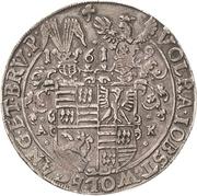 1 Thaler - Volrat VI., Jobst II., Wolgang III. and Bruno III. – avers