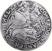 1 thaler Volrat VI., Jobst II., Wolfgang III. et Bruno III. – revers