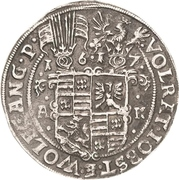 ½ Thaler - Volrat VI., Jobst II. und Wolfgang III. – avers