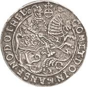 ½ Thaler - Volrat VI., Jobst II. und Wolfgang III. – revers