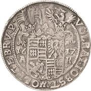 1 Thaler - Volrat VI., Jobst II., Wolgang III. und Bruno III. – avers