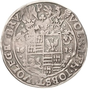 ½ Thaler - Volrat VI., Jobst II., Wolgang III. und Bruno III. – avers