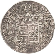 ¼ Thaler - Volrat VI., Jobst II., Wolgang III. und Bruno III. – avers