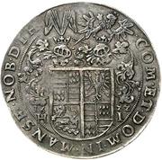 1 Thaler - Volrat VI., Wolfgang III. und Johann Georg – revers