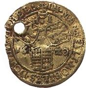 ½ Goldgulden - Volrat VI., Wolfgang III. and Johann Georg II. – revers