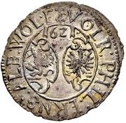 12 Kreuzer - Volrat VI., Philipp Ernst und Albrecht Wolff (Kipper) – avers