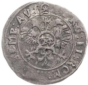 24 Kreuzer - Volrat VI., Philipp Ernst, Albrecht Wolff (Kipper) – revers
