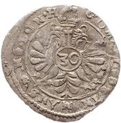 30 Kreuzer - Volrat VI., Philipp Ernst, Albrecht Wolff – revers