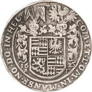 ½ Thaler - Volrat VI., Wolfgang III. and Johann Georg – revers