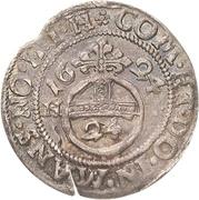 1 Groschen - Volrat VI., Wolfgang III. and Johann Georg – revers