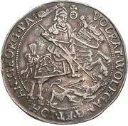 ¼ Thaler - Volrat VI., Wolfgang III. and Johann Georg II. – avers
