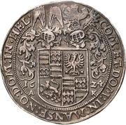 ¼ Thaler - Volrat VI., Wolfgang III. and Johann Georg II. – revers