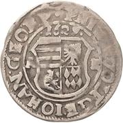 1 Groschen - Philipp Ernst, Wolfgang III. and Johann Georg II. – avers