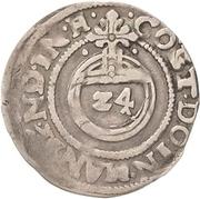 1 Groschen - Philipp Ernst, Wolfgang III. and Johann Georg II. – revers