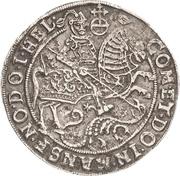 ½ Thaler - Volrat VI., Jobst II. and Wolfgang III. – revers
