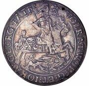 2 thaler Volrat VI, Wolfgang III et Johann Georg II – avers