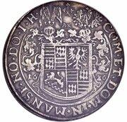2 thaler Volrat VI, Wolfgang III et Johann Georg II – revers