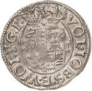 1/21 Thaler - Volrat VI., Jobst II. and Wolfgang III. – avers