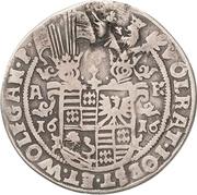 ¼ Thaler - Volrat VI., Jobst II. and Wolfgang III. – avers