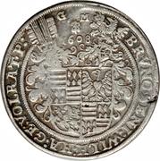 1 Thaler - Bruno II, Wilhelm I, Johann Georg IV, & Volrat VI – avers
