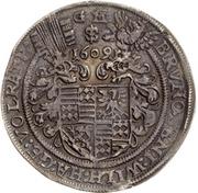 ½ Thaler - Bruno II., Wilhelm I. Johann Georg IV. and Volrath VI. – avers