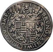 ¼ Thaler - Bruno, Wilhelm, Johann Georg, Volrath and Jobst – avers