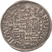 1 Groschen - Bruno II., Wilhelm I., Johann Georg IV., Volrat VI. and Jobst II. – avers