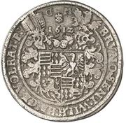 2 Thaler - Bruno II., Wilhelm I., Johann Georg IV. and Volrat VI. – avers