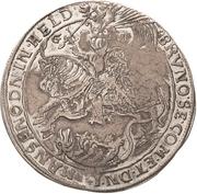 ½ Thaler - Bruno II. (Death) – avers