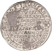 ½ Thaler - Bruno II. (Death) – revers