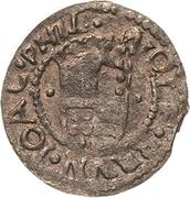 1 Groschen - Wolfgang, Bruno, Johann Friedrich and Philipp (Kipper) – avers