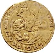1 Ducat - Wolfgang III. and Johann Georg II. – avers