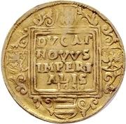 1 Ducat - Wolfgang III. and Johann Georg II. – revers
