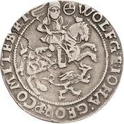 ¼ Thaler - Wolfgang III. and Johann Georg II. – avers