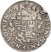¼ Thaler - Wolfgang III. and Johann Georg II. – revers