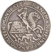 1 Thaler - Franz Maximilian and Heinrich Franz – avers