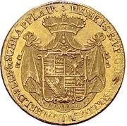 1 Ducat - Heinrich – avers