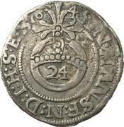 1 Groschen - Johann Georg II. – revers