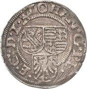 1 Groschen - Johann Georg I. und Peter Ernst I. – avers
