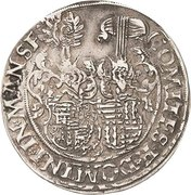 ½ Thaler - Johann Georg I., Peter Ernst I. and Christoph II. – revers